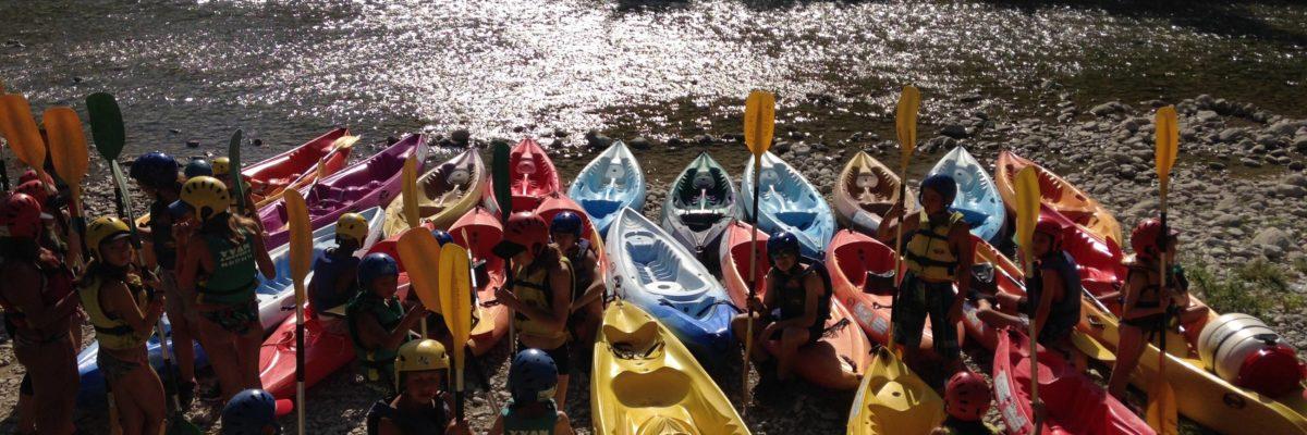 Canoe bord de drome